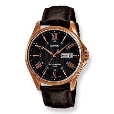 ราคา Casio Mtp 1384L 1 นาฬิกาผู้ชาย สายหนัง ใหม่ล่าสุด