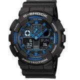 ขาย Casio นาฬิกา G Shock Ga 100 1A2Dr Blackblue ประกัน Cmg เป็นต้นฉบับ