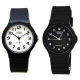ราคา Casio นาฬิกา ข้อมือผู้ชาย สายเรซิ่น แพ็คคู่ รุ่น Mq 24 7B2 Mq 24 1B Black Casio เป็นต้นฉบับ