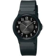 ราคา Casio นาฬิกา ข้อมือผู้ชาย สายเรซิ่น รุ่น Mq 24 1B3 Black กรุงเทพมหานคร