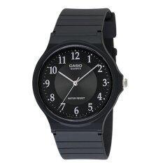 ซื้อ Casio นาฬิกาข้อมือผู้ชาย สายเรซิ่น รุ่น Mq 24 1B3Ldf สีดำ ใน แพร่