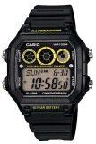 ส่วนลด สินค้า Casio นาฬิกาข้อมือผู้ชาย สีดำ สายเรซิ่น รุ่น Ae 1300Wh 1Avdf