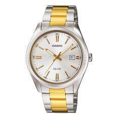 Casio นาฬิกาข้อมือผู้ชายระบบเข็ม สองกษัตริย์ รุ่น Mtp 1302Sg 7Avdf Multi เป็นต้นฉบับ