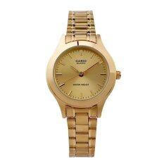 ซื้อ Casio นาฬิกาข้อมือผู้หญิง รุ่น Lady Ltp 1128N 9Ardf เรือนทอง