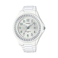 ขาย Casio นาฬิกาข้อมือผู้หญิง สายเรซิ่น รุ่น Lx 500H 7B2Vdf สีขาว Casio ถูก