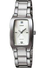 ขาย Casio นาฬิกาข้อมือผู้หญิง สายสเตนเลส รุ่น Ltp 1165A 7C2Df สีเงิน หน้าปัดสีขาว ไทย ถูก