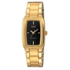 ราคา Casio นาฬิกาข้อมือผู้หญิง สีทอง สายสเตนเลส รุ่น Ltp 1165N 1Crdf เป็นต้นฉบับ