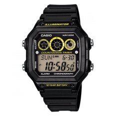ส่วนลด Casio นาฬิกาข้อมือ รุ่น Ae 1300Wh 2A สีดำ ไทย