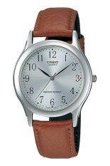 ขาย Casio นาฬิกาผู้ชาย สายหนัง รุ่น Mtp 1093E 7Brdf สีน้ำตาล ออนไลน์