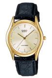 ราคา Casio นาฬิกาผู้ชาย สายหนัง รุ่น Mtp 1094Q 7A สีดำ ใหม่ล่าสุด