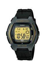 ราคา Casio Standard นาฬิกาข้อมือผู้ชาย สีดำ สายเรซิ่น รุ่น Hdd 600C 9A Casio Standard เป็นต้นฉบับ