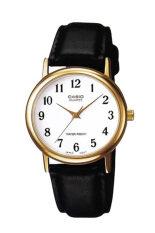 ราคา Casio นาฬิกาข้อมือผู้ชาย สายหนัง รุ่น Mtp 1095Q 7B Black White Casio ออนไลน์
