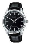 ราคา Casio นาฬิกาข้อมือผู้ชาย สายหนัง รุ่น Mtp V005L 1Audf Black Casio