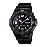 Casio Standard นาฬิกาข้อมือผู้ชาย สีดำ สายเรซิน รุ่น Mrw 200H 1B2Vdf ไทย