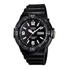 Casio Standard นาฬิกาข้อมือผู้ชาย สีดำ สายเรซิน รุ่น Mrw 200H 1B2Vdf Casio ถูก ใน ไทย