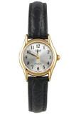 ราคา Casio นาฬิกาข้อมือผู้หญิง สายหนัง รุ่น Ltp 1094Q 7B2Rdf Black White เป็นต้นฉบับ Casio