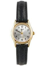 ราคา Casio นาฬิกาข้อมือผู้หญิง สายหนัง รุ่น Ltp 1094Q 7B2Rdf Black White Casio ออนไลน์