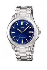ราคา Casio นาฬิกาข้อมือผู้หญิง สายสแตนเลส รุ่น Ltp 1215A2A2Df Silver Blue เป็นต้นฉบับ Casio
