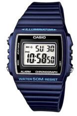 ราคา Casio นาฬิกาข้อมือผู้หญิง รุ่น W215H2Avdf Blue Thailand