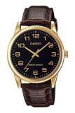 โปรโมชั่น Casio นาฬิกาข้อมือ รุ่น Mtp V001Gl 1Budf Brown Black ใน Thailand