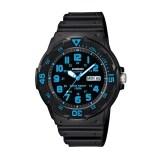 ซื้อ Casio Standard นาฬิกาข้อมือสายเรซิ่น สีดำ รุ่น Mrw 200H 2B Casio Standard ออนไลน์