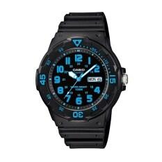 ราคา Casio Standard นาฬิกาข้อมือสายเรซิ่น สีดำ รุ่น Mrw 200H 2B ใหม่ ถูก