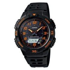 ขาย ซื้อ Casio Standard Solar Power นาฬิกาข้อมือผู้ชาย สายเรซิ่น รุ่น Aq S800W 1B2V Black