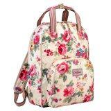 ขาย Cath Kidston Multi Pocket Backpack Matt Oilcloth Rucksack Clarendon Rose 16Ss Colour Cream Fitting 13 Laptop 557696 ราคาถูกที่สุด