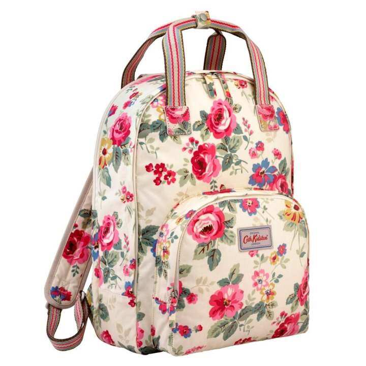 36f40a9863bc0 แนะนำ Cath Kidston Multi Pocket Backpack Matt Oilcloth Rucksack ...