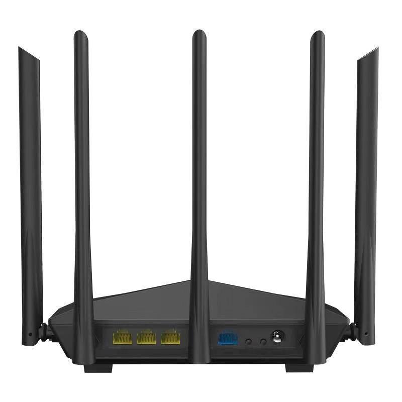Tenda เร้าเตอร์ไวเลส รุ่น Ac11 5เสาอากาศ 2.4g/5.0ghz Smart Dual Band Ac1200 Wireless Wifi Router Wi-Fi Repeater.