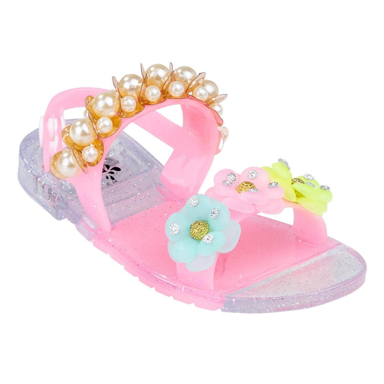รองเท้าแตะรัดส้นเด็กผู้หญิง รุ่น SS2076PI สีชมพู ไซส์ 24