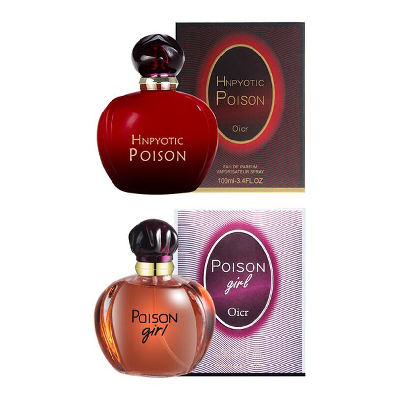 น้ำหอมผู้ญิง Hnpyotic Poison 100ml กลิ่นหอมหวานเซ็กซี ทำให้ผู้ชาย หลงรัก หลงหอมได้ กล่องทนทาน หัวฉีดดี มี 2 สี พร้อมส่ง.