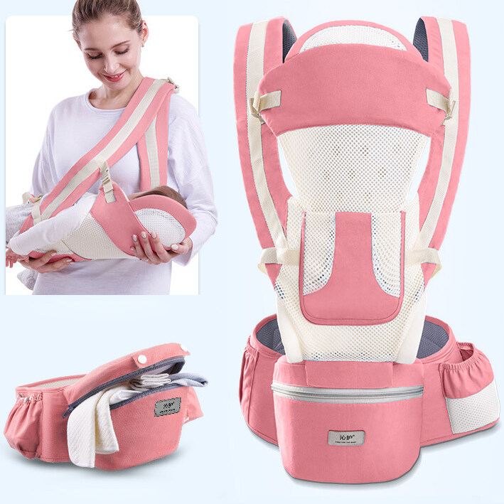 โปรโมชั่น BabySafe เป้อุ้มเด็ก กระเป๋าอุ้มเด็ก0-30kg ผ้าอุ้มเด็กทารกแรกเกิด ถนอมศรีษะ ที่อุ้มเด็กถอด เปลอุ้มเด็ก15 แบบ กระเป๋าอุ้มลูกระบายอากาศ Baby Carrier