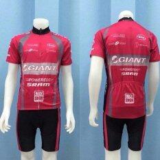 ขาย Cbike ชุดปั่นจักรยาน Giant Red ชุดโปรทีมจักรยาน ชุดขี่จักรยาน ชุดจักรยาน