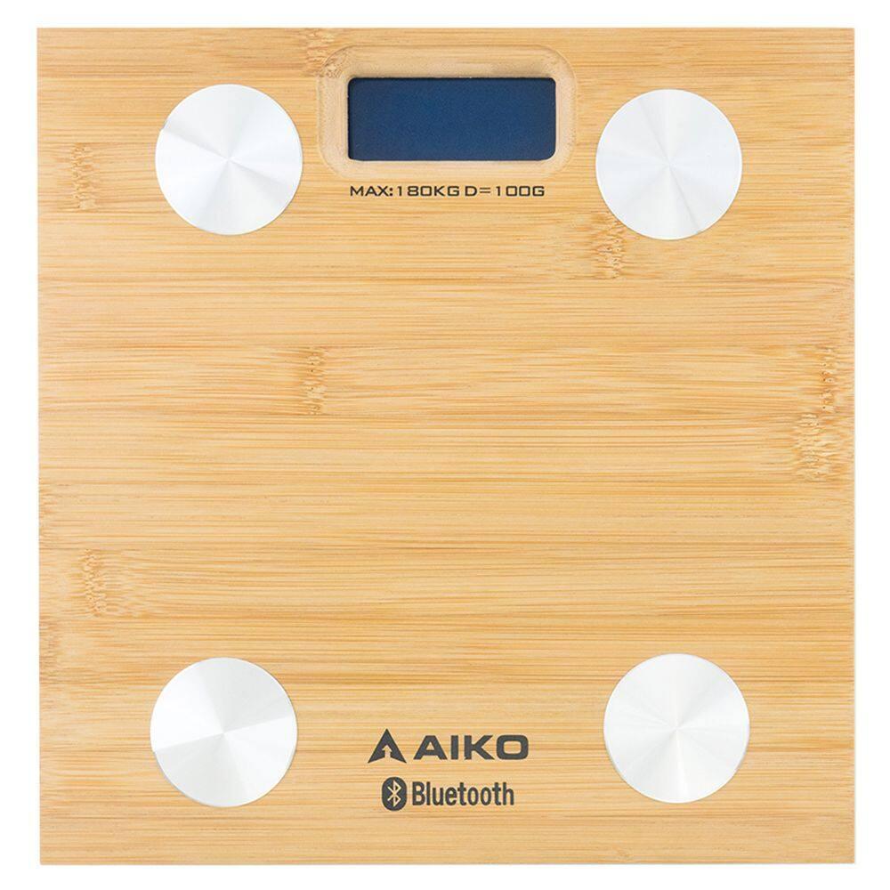 ***ส่งฟรี100%kerry เครื่องชั่งน้ำหนัก Aiko Ak-8030 พื้นไม้ น้ำหนัก 180 กก Usb App ไขมัน กล้ามเนื้อ กระดูก อายุ Bmr เครื่องชั่งน้ําหนัก ดิจิตอล เครื่องชั่ง เครื่องชั่งดิจิตอล Digital นน Mi Tanita Xiaomi ลดความอ้วน ยาลดความอ้วน เครื่องออกกําลังกาย ฟิตเนส.
