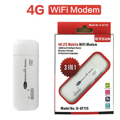 Pocket Wifi Aircard Wifi Modem 4g Lte 150 Mbps Usb.
