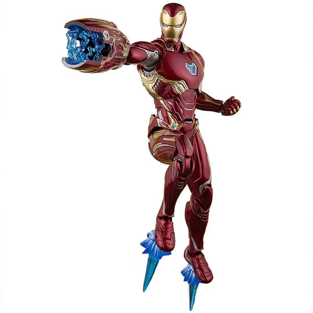 The Avengers 3 Infinite War SHF Iron Man MK50 Movable Boxing Model