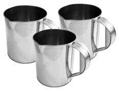 ราคา Ccg แก้วชงชาชัก แก้วชงกาแฟ สเตนเลส 1 5 ลิตร ชุด 3 ใบ Ccg Restaurant Supply เป็นต้นฉบับ