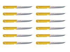 ขาย Ccg ชุด มีด มีดปอกผลไม้ ปลายแหลม สเตนเลส ด้ามเจาะรู 12 เล่ม สีเหลือง ราคาถูกที่สุด