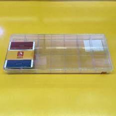 ราคา ราคาถูกที่สุด จานสี กล่องใส่พระ กล่องเอนกประสงค์ กล่องใส สี่เหลี่ยม 14ช่อง