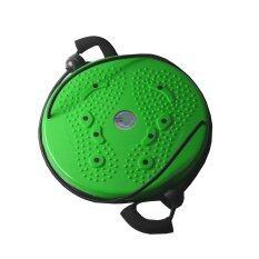 ขาย จานทวิส จานหมุนเอว แบบมีเชือก สีเขียว Twist Disc Twist Plate Twister ถูก ไทย