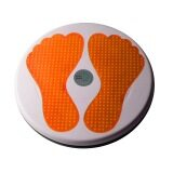ส่วนลด จานทวิส จานหมุนเอว รูปรอยเท้า สีส้ม Twist Disc Twist Plate Twister