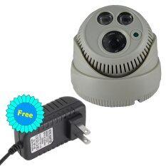 CCTV กล้องวงจรปิด กล้องโดม Analog 1200 TVL HD พร้อมอินฟาเรด กล้องวงจรปิด HD คืนวิสัยทัศน์