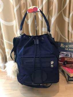 กระเป๋าสะพาย Kipling female Bag Kaipulin Bucket Bag Female (K71631)(งานแบรนด์แท้100%)-