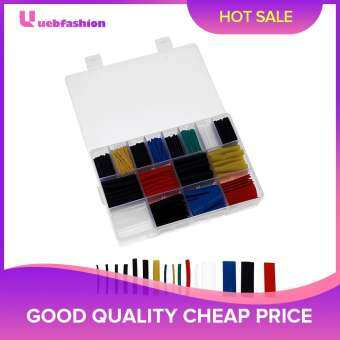 [Uebfashion Hot Selling] 580 ชิ้น 2:1 ท่อหดความร้อนท่อห่อหุ้มสายไฟ ASSORTED ชุด - นานาชาติ
