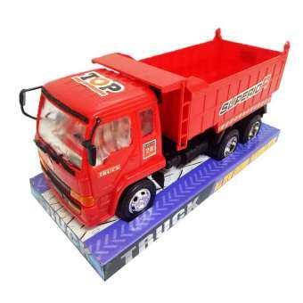 POPTOY ของเล่น โมเดลรถบรรทุกเด็กเล่น มีลาน 2226-