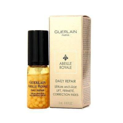 Guerlain Daily Repair Serum 5ml. สูตรน้ำผึ้ง (Royal Jelly) เซรั่มเข้มข้น เน้นลดริ้วรอยเติมร่องผิว +รูขุมขนเล็กยกกระชับใบหน้า