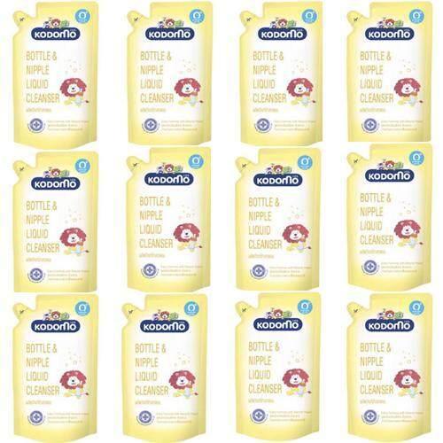 ซื้อที่ไหน (ซื้อยกลัง) KODOMO น้ำยาล้างขวดนม โคโดโม 600 มล. (ชนิดถุงเติม) 12 ถุง