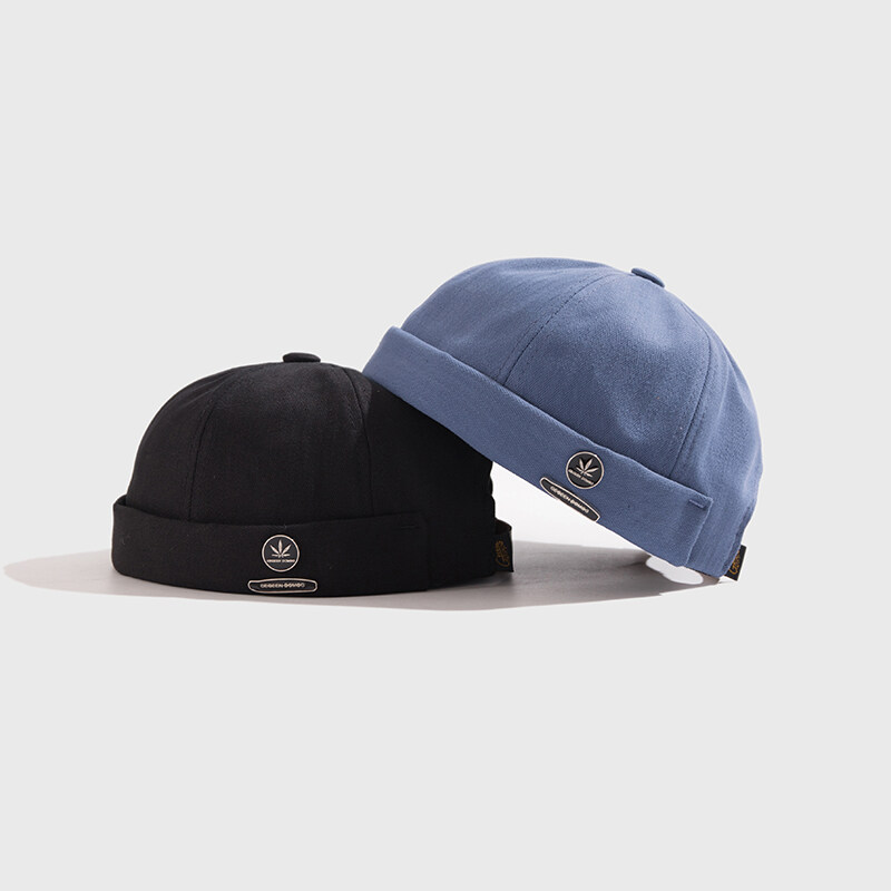 หมวกมิกิ หมวกมิกกิ หมวก Miki Hat หมวกสายเขียว หมวก แฟชั่น ผู้ชาย 420 ร้าน Hats Thai ขายหมวกสวยๆเท่ๆหมวกแฟชั่น 2020 Unisex Docker Sailor Biker Cap Streetwear Pumpkin Vintage Navy Brimless Beanies Hat Melon Sailor Casual Short Harajuku Cap.