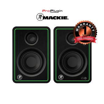 Mackie CR4-X CREATIVE REFERENCE MULTIMEDIA MONITORSลำโพงสตูดิโอสำหรับมิ๊กซ์เสียงและใช้ในชีวิตประจำวัน (ProPlugin)